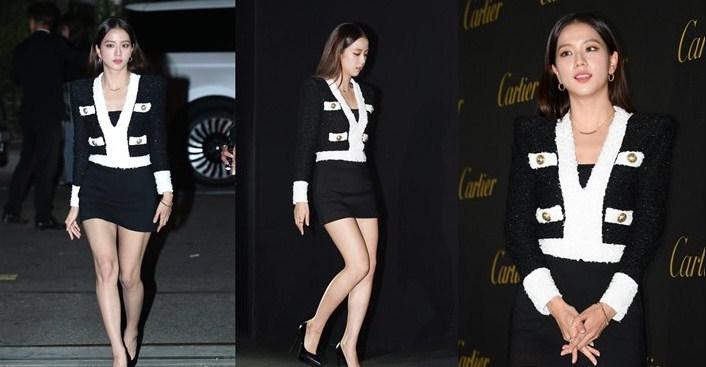 Hadir Di Event Yang Sama Dengan Siwon Sampai Cha Eunwoo, Penampilan Jisoo BLACKPINK Di Puji Habis-Habisan