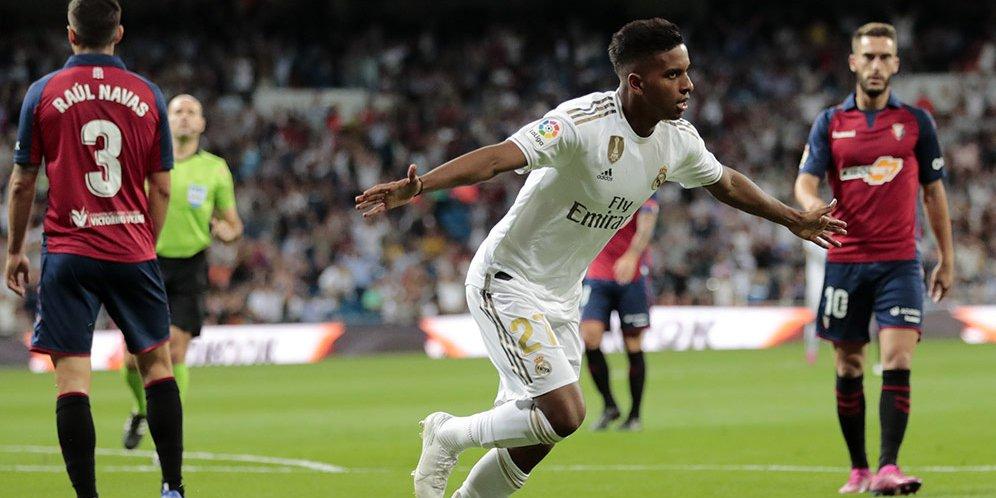 Kemenangan Madrid atas Osasuna (2-0)
